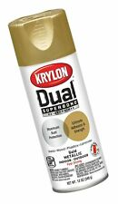 Krylon K08845001 Dual Superbond Primer Spray Paint, Gold Metallic