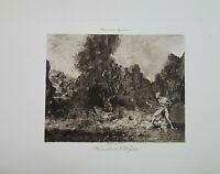 Antony Roux Collection.Engravings.Corot, Ziem, Moreau.Georges Petit Gallerie.
