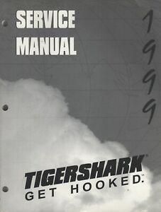 1999 TIGERSHARK PERSONAL WATERCRAFT SERVICE MANUAL  2256-121 (727)