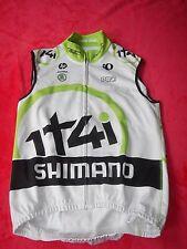 Original Shimano 1t4i Team pearl izumi cycle Soft Shell hiver gilet RAR