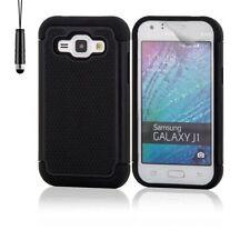Cover e custodie nero modello Per Samsung Galaxy J1 in silicone/gel/gomma per cellulari e palmari