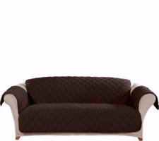 "SUREFIT, Sure Fit Plush Comfort Furniture Cover, SOFA 74"" - 96"", Chocolate"