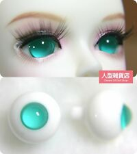 14mm  For BJD DOD AOD MK OK RD Doll Dollfie Glass Eyes Outfit ling Green 6