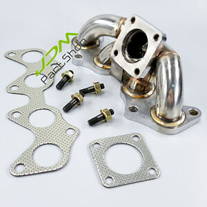 Fit Toyota Starlet EP82 EP91 Stainless Racing Exhaust Manifold Header STOCK CT9