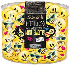 (1000g=35,36€) Lindt Hello Mini Emoji Emotis Taler - Schokolade - 69 Stück