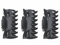 4cm Black Hair Claw Clips Clamps Hair Accessories