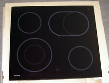 Glaskeramikplatte Glasplatte GLAS f Cerankochfeld Privileg GK504011, GK624011-K