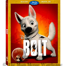Disney Superhero Lost Dog Hamster Family Comedy Bolt on Blu-ray & Digital Copy
