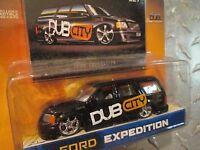 dub city customs ford expedition BLACK DUB CITY     jada 1/64 8+
