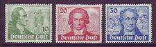 Berlin 1949 postfrisch MiNr. 61-63  J. W. von Goethe   MiNr. 61 geprüft