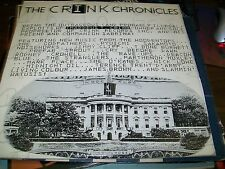 The Crink Chronicles-Self Titled-2 LP-Promo-Vinyl Record-VG+
