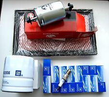 HOLDEN VQ STATESMAN CAPRICE 5.0L V8 SERVICE KIT AIR OIL FUEL FILTERS & PLUGS GM