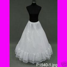 Super FULL A-LINE Petticoat Slip Crinoline Wedding Gown