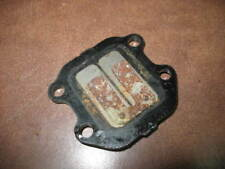 REED VALVE CAGE PLATE 1979 YAMAHA QT50