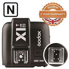 Godox X1T-N - TTL HSS 2.4GHz Radio Disparador para las cámaras Nikon