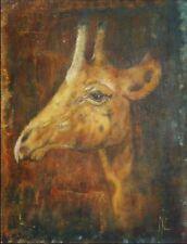 Peintures du XXe siècle et contemporaines huile signé animaux