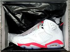 Nike Air Jordan 6 Retro WHITE INFRARED Size 12 Black Bred Cement OG 3 11 1 4 13