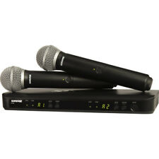 Shure BLX288/PG58- Dual-Transmitter Handheld Wireless System with 2 PG58 Mics