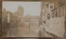 The Hangman's Bridge (Henkersteg) Nuremberg c.1913 (Jd.159)