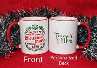 This is my Hallmark Christmas Movie Watching Mug Hallmark Movie Coffee Cup