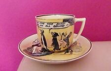 VERY RARE ROYAL DOULTON PIP, SQUEAK AND WILFRED TEACUP AND SAUCER SET D4741