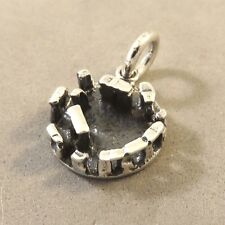 .925 Sterling Silver 3-D STONEHENGE CHARM NEW Wiltshire England UK 925 TR41