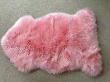 GENUINE SHEEPSKIN RUG - BABY PINK