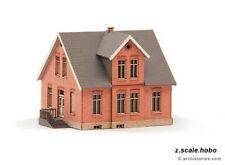 Archistories Z Scale 402111 Small Brick Railway House Building Kit *NEW $0 SHIP