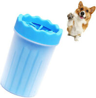 Blue Portable Pet Paw Plunger Mud Cleaner Wash Mudbuster Dog Cat Pet Paw Cleaner