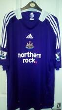 BNWT NEWCASTLE UNITED AWAY SHIRT TOZER 35 ON BACK PREMIER LEAGUE PATCHES 2XL