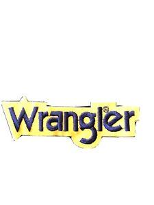 New Wrangler Hat Patch.