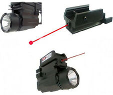CREE LED Flashlight/Red Laser/Sight For Pistol Gun Glock 17 19 20 21 22 23 30 31