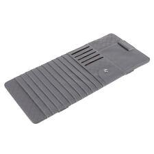 Car Sun Visor Sunshade CD Card Clip Holder Organizer Pocket Storage Gray
