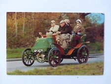 Unused Vintage 1900 Napier 8 Hp Double Phaeton Early Automobile England PostCard