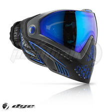 Dye I5 Paintball Goggles - Storm Black / Blue **FREE SHIPPING**