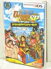 ONE PIECE Unlimited Cruise SP Guide w/Map Nintendo 3DS Book VJ*