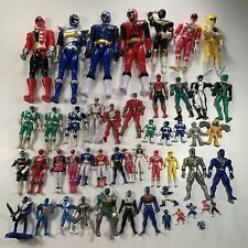 50 Vintage Mighty Morphin Power Rangers Action Figure Lot Saban Bandai 90s-2000s