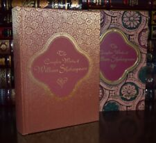 Complete Works of William Shakespeare New Sealed Hardcover Slipcase 2 Day Ship