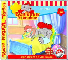 Benjamin Blümchen - Folge 54 - ist krank - Hörspiel - CD - *NEU*