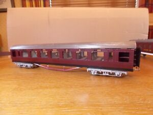 KIT BUILT LNER DINING CAR COACH in Maroon Livery. (Needs completing). O Gauge