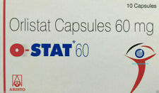 50 Capsule di O-Stat obinil HS Orlistat CT 60 mg Perdita Di Peso Grasso Brucia Dieta