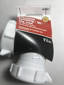 "Ace Hardware  1-1/2""  Extension coupling 90- slip joint"