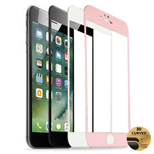 For iPhone 8 Plus/7 Plus/6S Full Tempered Glass Curved Edge Screen Protector