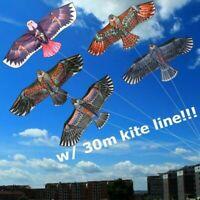 Drachen Outdoor Kinder Drachen riesige Adler Flugdrachen 30m kite w/ Kites A3Q1