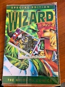1992 Guide Comics WIZARD Image SPECIAL EDITION spawn mcfarlane Jim Lee last one!