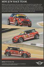 2016 John Cooper Works JCW BMW Mini ST IMSA CTSC postcard