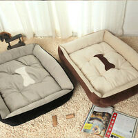 Fashion Pet Bed Cushion Dog Cat Warm Mat Soft Pad Nest Waterproof Surface pop