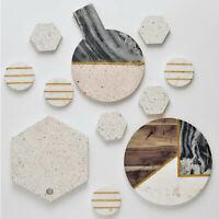 Terrazzo Marble Chopping Board Kitchen Food Cutting Board Serving Tray Platter
