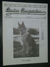 Northeast Canine Companion Dog Magazine Lundehund Cover Nov. 1998