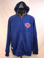 New York Knicks Mens Size M Medium Adidas On Court Pre Game Jacket Hoodie $85